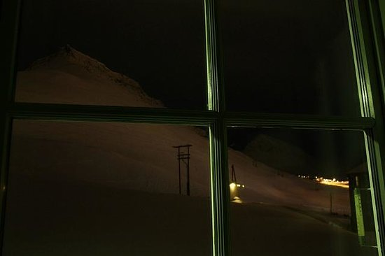 Spitsbergen Hotel: view from my room