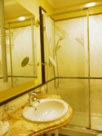 Hotel Opera Roma:                   バスルーム