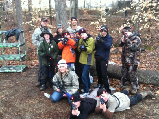 Kersey Valley Laser Tag:                   Kersey Valley Outdoor Laser Tag (February)