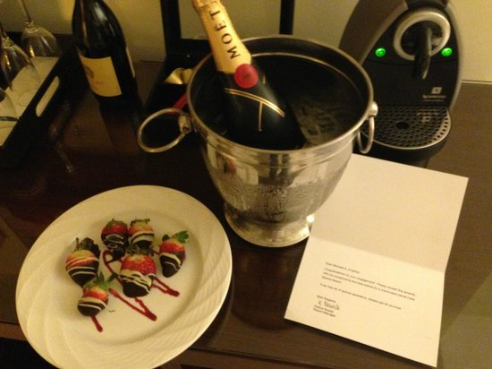 Casa Marina, A Waldorf Astoria Resort:                                     A nice surprise from the hotel!