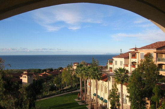 Marriott's Newport Coast Villas:                   Morning View from our Room