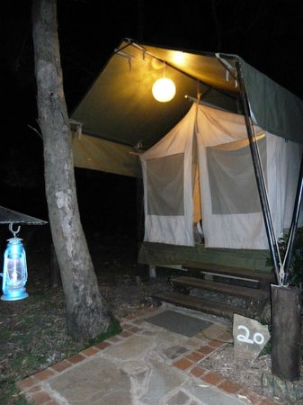 Wildebeest Eco Camp: Garden tent