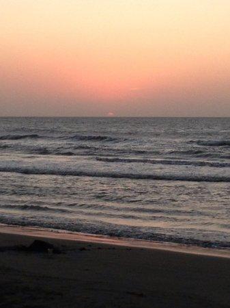 Occidental Cartagena:                   Beautiful sunset