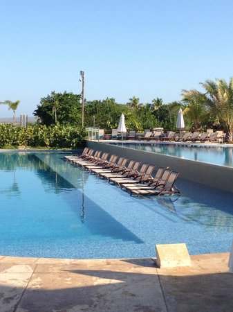 Occidental Cartagena:                   One of the pools