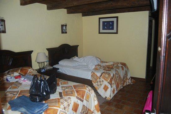 Hotel Ciudad Real Centro Historico :                   La camera