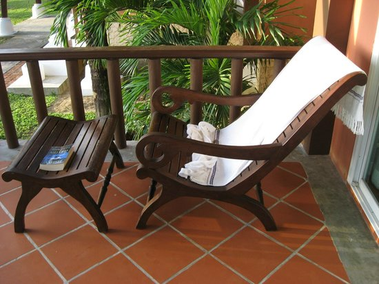 C&N Kho Khao Beach Resort: Your private balcony