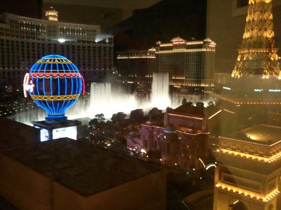 Planet Hollywood Resort & Casino:                   View from Room 1793