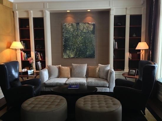 Hotel Villa Honegg : living area