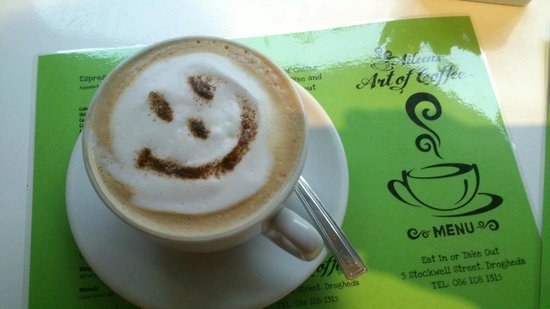 Aileen's Art of Coffee: Dont worry, be happy