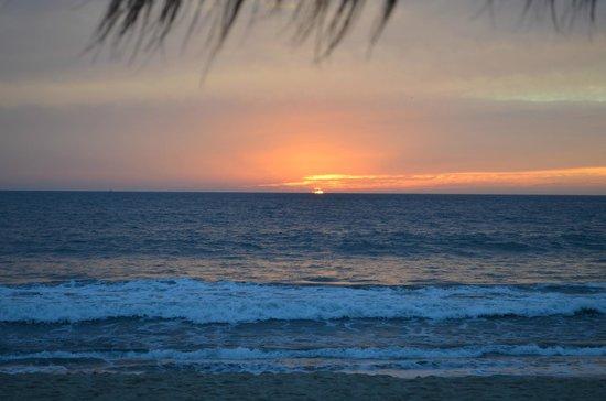 Malecon:                   sunset