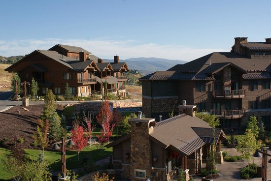 Waldorf Astoria Park City:                   Other view from our room