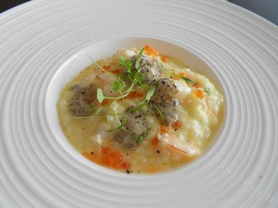 RockSalt Modern Dining:                   Risotto with shrimp and truffle