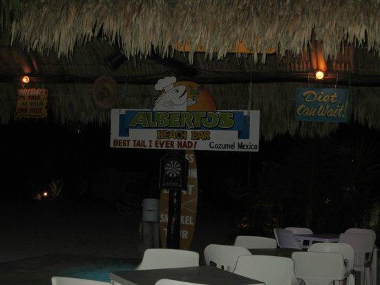 Alberto's Beach Bar Restaurant :                                     Alberto's