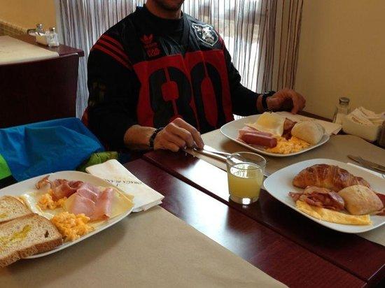 Hotel Obaga Blanca: Desayuno