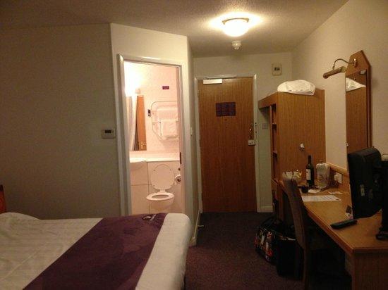 Premier Inn Worcester (M5,Jct6) Hotel :                   Clean
