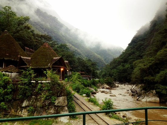 Inkaterra Machu Picchu Pueblo Hotel:                                     View from River