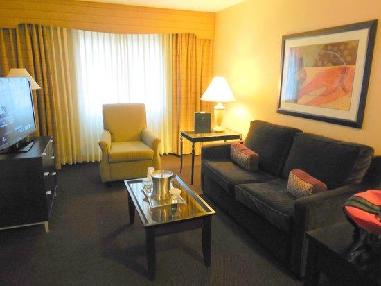 Hilton Brentwood/Nashville Suites:                   Living room