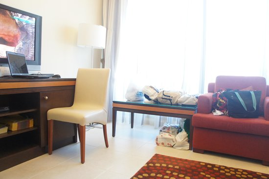 Xclusive Hotel Apartments:                   The Living room