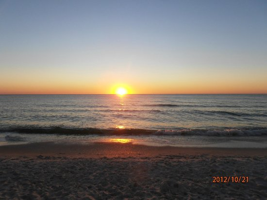 Inn of Naples:                                     The beautiful sunset on the local beach!