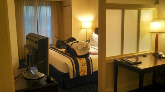 "SpringHill Suites Indianapolis Fishers:                   Not your typical ""rectangular"" shaped room..."