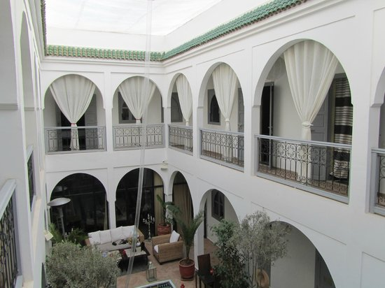 Riad Utopia Suites & Spa:                   1e etage