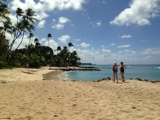 Saint Peter's Bay:                   Secluded private beach