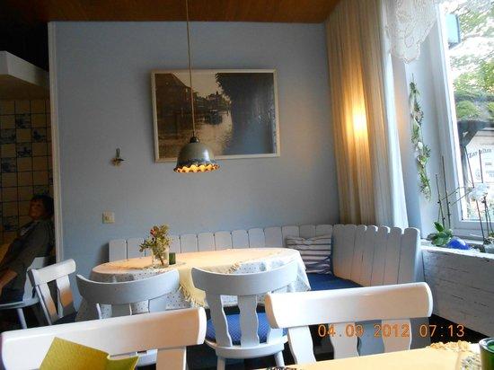 Zur alten Schmiede:                   Restaurant of the hotel