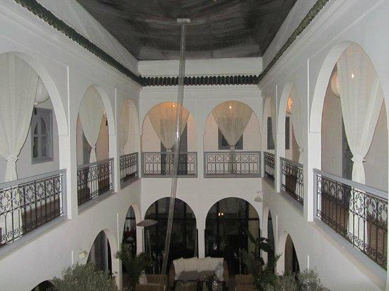 Riad Utopia Suites & Spa:                   1e etage bij avond