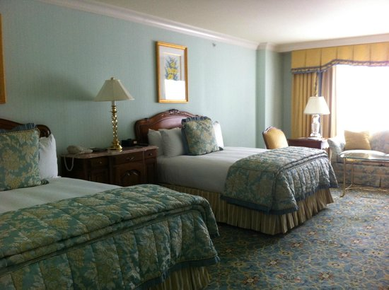 Grand America Hotel:                   Double Queen Size Beds