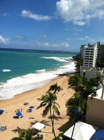 San Juan Marriott Resort & Stellaris Casino:                   View from my room....WOW.