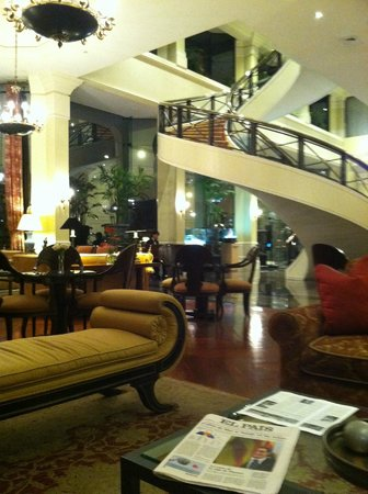 Belmond Miraflores Park:                                     Main Lobby