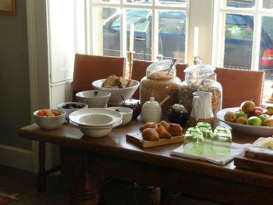 The Talbot Inn :                                                       Brilliant breakfast