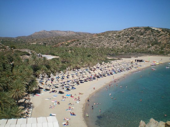 Sitia Beach City Resort & Spa :                                     plage de Vai
