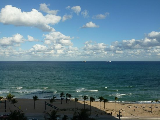 Sonesta Fort Lauderdale Beach:                                     view from the room