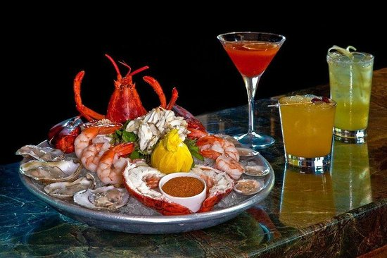 Raw Bar Platter at WEST Kitchen & Tavern