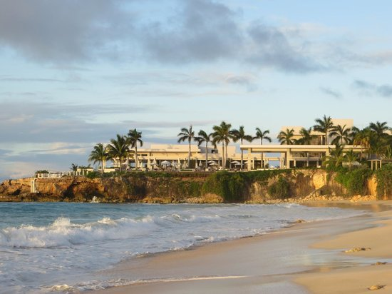 Four Seasons Resort and Residences Anguilla: View from Barnes Bay to the resort