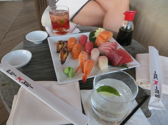 Four Seasons Resort and Residences Anguilla: Sushi!