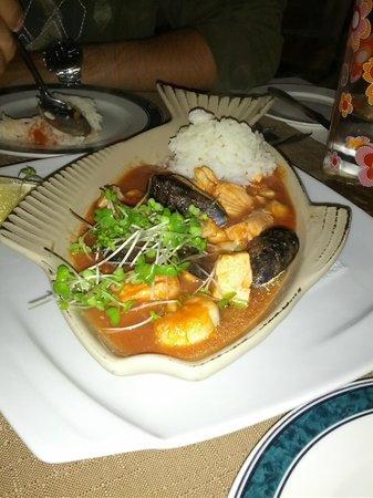 Mangos Restaurant: Riso con Pesce Misto