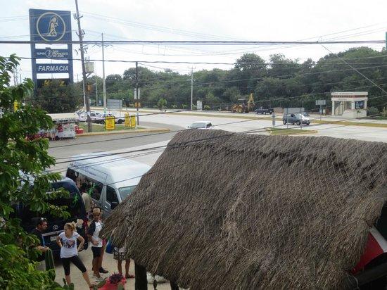 Itour Mexico:                   Zeer druk kruispunt