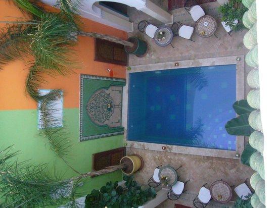 Riad Caesar :                   Patio interior