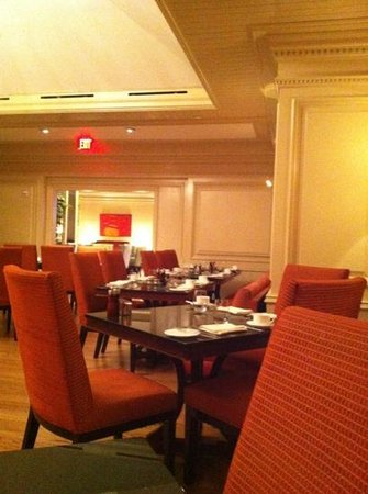 The Ritz-Carlton, Washington DC: dining room