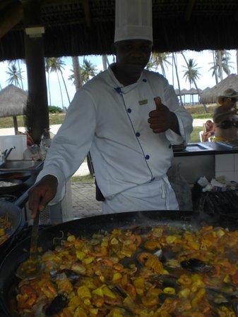 Iberostar Praia do Forte:                   Comida feita na hora