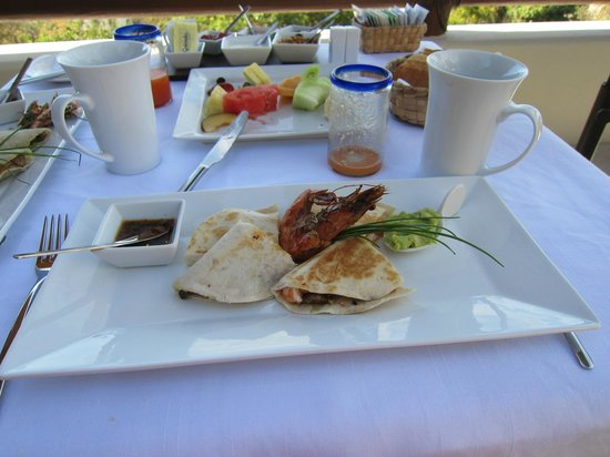 Hotel Cinco Sentidos:                   Breakfast