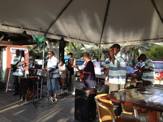 Bath & Turtle Restaurant:                   Live reggae band
