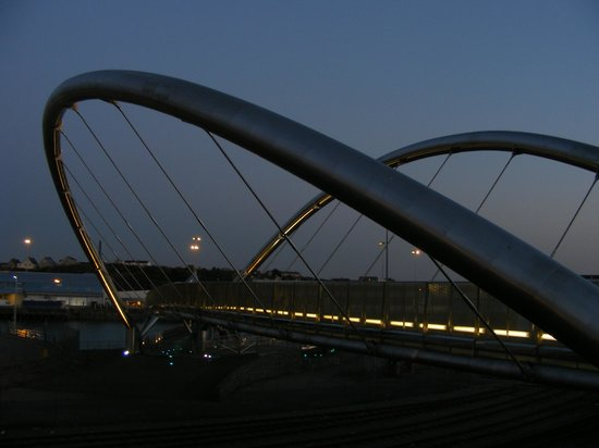 Celtic Gateway Bridge:                   Celtic Gateway At Sunset