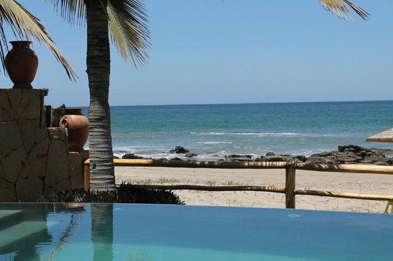 Las Pocitas Beach:                   Vista de casa
