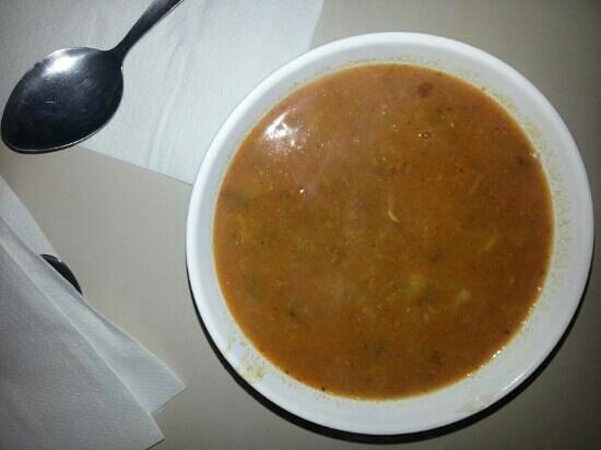 beni falafel:                   Bean soup