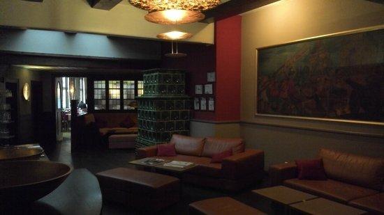 Hotel Goldene Krone: Aufenthaltsraum