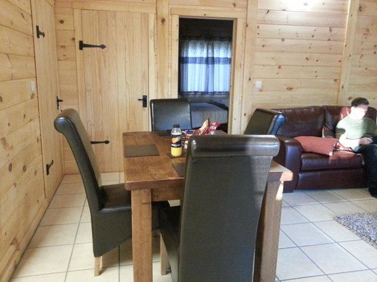 Quarry Walk Lodges:                                                       lodge interior