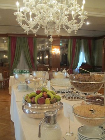 Aldrovandi Villa Borghese: Breakfast Buffet